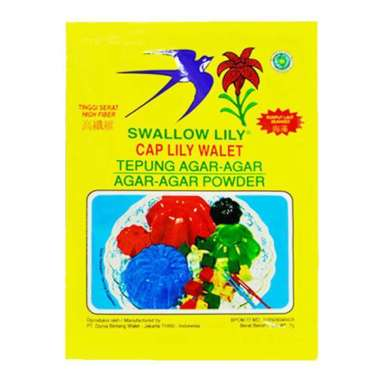 harga Swallow Lily Agar-Agar Putih 7 Gr Blibli.com
