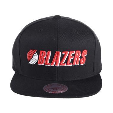 Mitchell n Ness NBA Wool Solid/Soli ... tland Trail Blazers NL15Z