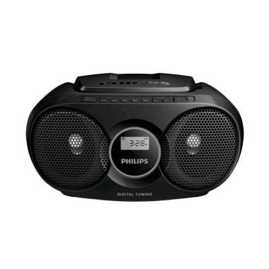harga Philips AZ215B BoomBox - Black Blibli.com