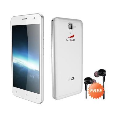 harga SPC Noah S12 Mercury Smartphone - Silver + Free Earphone Noah Blibli.com
