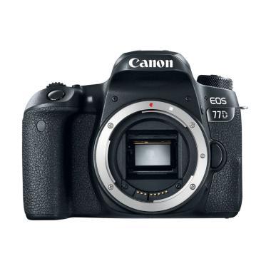 Concept Shop - Canon EOS 77D Body Only RESMI + SANDISK SD ULTRA 16GB + SCREEN GUARD