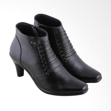 JK Collection A195 Fashionable Form ... her Sepatu Wanita - Black
