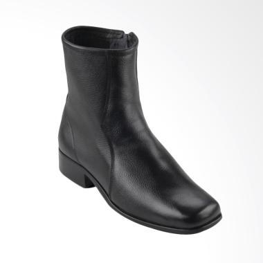 Marelli 8906 Boots kulit wanita - Hitam