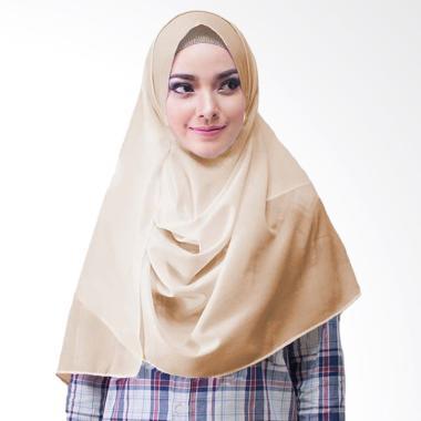Milyarda Hijab Paloma Diamond Hijab Instan - Coklat Susu