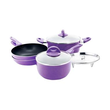 Supra Rosemary Cookware Set - Ungu [7 pcs]
