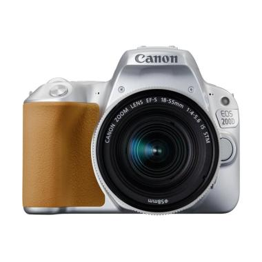 CANON EOS 200D KIT EF-S 18-55MM F/4-5.6 IS STM SILVER jpckemang