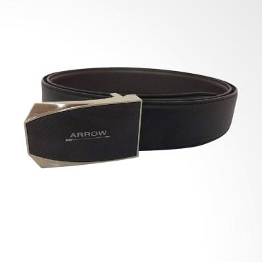 Arrow Leather Belt Ikat Pinggang Pria - Black BP-AR2124FHB-A35-1143