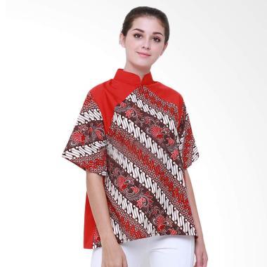 Baju Atasan Wanita Murah Meriah Elova Batik - Jual Produk Terbaru ... f2f8dc113c