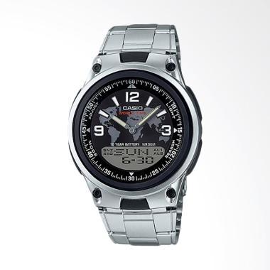 Jam Tangan Casio AW-80D-1A2VDF Standard [Men] - Silver