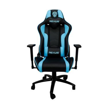 REXUS RGC 102 Gaming Chair - Black Blue