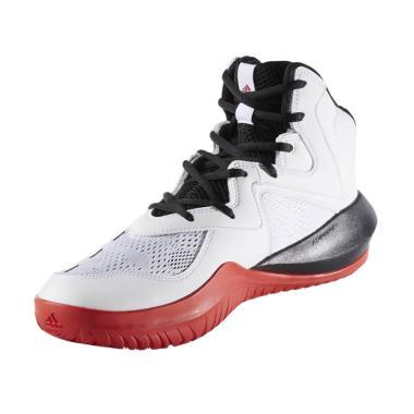 adidas Men Basketball Crazy Team 2017 Sepatu Basket - White BY4533