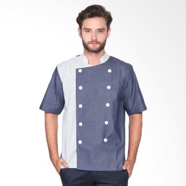 Chef Series Sapphire Series Tangan  ...  Biru Garis Biru [Size M]