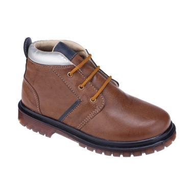 Syaqinah 066 Sepatu Boots Anak Laki-Laki - Coklat