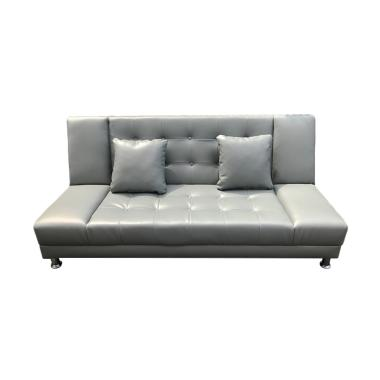 Best Furniture Jelly Sofabed Sofa Ranjang - Abu [Khusus Jabodetabek]