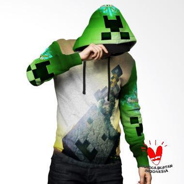Fika Tema Minecraft 3D Full Print S ... rt 5 Jaket Hoodie Sweater