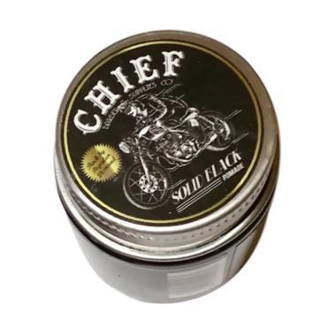 Chief Pomade Water Based Mini Minya ... Solid Black [1.8 oz/35 g]