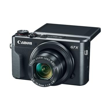 harga Canon G7x Mark II Kamera Pocket - Black Free Memory Card Ultra SD 16 Gb Blibli.com