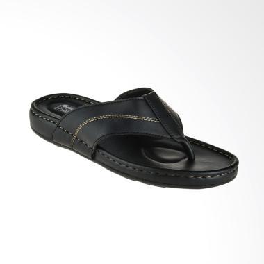Bata Comfit Ricco Men Sandal Pria - Black [8716070]