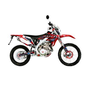 Gazgas GXE 450 Sepeda Motor Trail - Red [Jawa Timur]