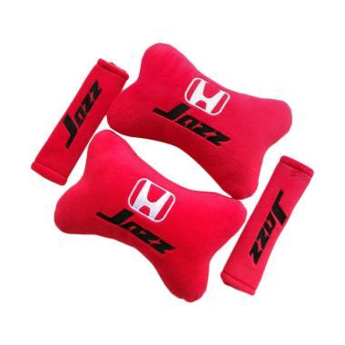 harga Indonesia Motor Motif Honda Jazz Set Aksesoris Interior Mobil - Red Blibli.com
