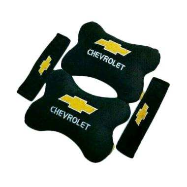 harga Indonesia Motor Motif Chevrolet Set Aksesoris Interior Mobil - Black Blibli.com