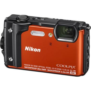 harga Nikon Coolpix W 300 Kamera Pocket - Orange Free Memory Card Ultra SD 16 GB Blibli.com