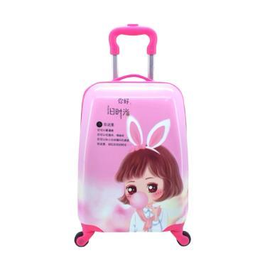 DJ Fashion 0553 Trolley Bag Tas Sekolah Anak - Multicolor