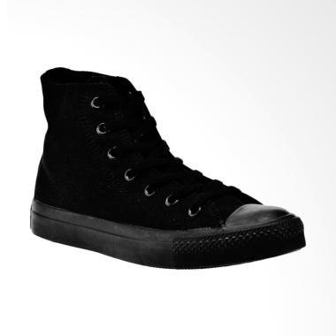 Converse Chuck Taylor All Star High Sepatu Wanita - Black