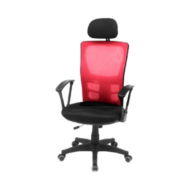 The Olive House Isa Mesh Student Chair - Red