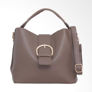 Lorica by Elizabeth Yunjin Hand Bag - Khaki