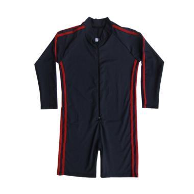 Rainy Collections Lis Merah Baju Re ...  Tangan Panjang [Size TK]