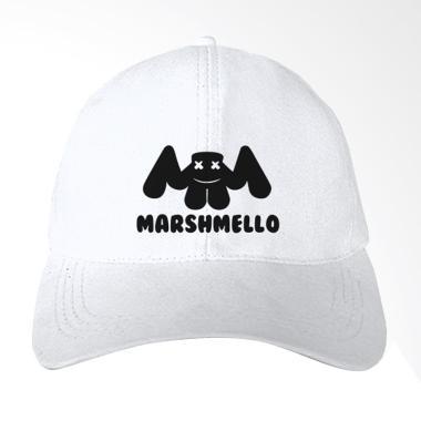 fb4f1e4a2 IndoClothing Marshmello Topi Baseball - Putih