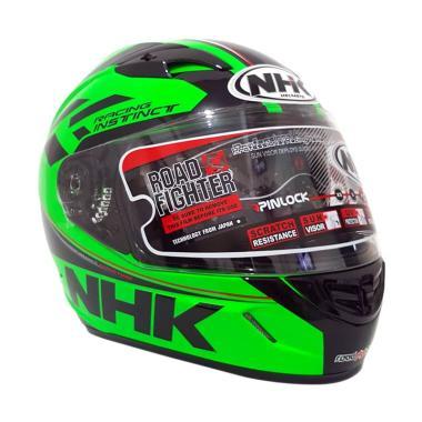 harga NHK GP 1000 SE Racing Instinct Helm Full Face - Green Fluo Blibli.com