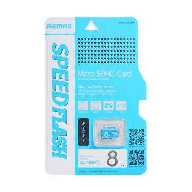 Remax Memory Card Micro SD Class 6 8GB Original
