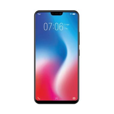 VIVO V9 Smartphone - Black + Free 8 Item Menarik