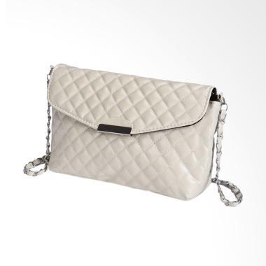 Lansdeal Purse Shoulder Bag Leather Tas Wanita - White