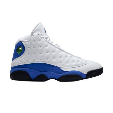NIKE Air Jordan 13 Retro Sepatu Basket Pria - White Blue