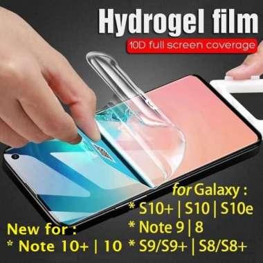 harga Dijual HYDROGEL Anti Gores Galaxy S10S10S10eNote X 10 9 8 S9 S8 plus lite Limited Blibli.com