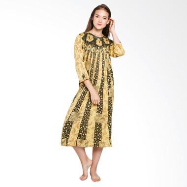 Batik Alhadi LPT001-22A Longdres Ba ... Piyama Ibu Hamil - Kuning