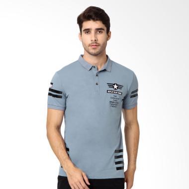 RBJ Krah Polo Shirt Pria - Biru [2567560021]