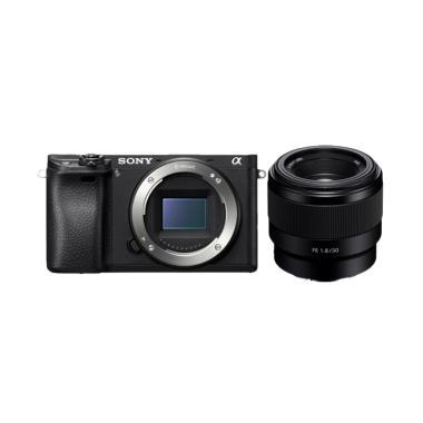 Sony Alpha A6300 Body + FE 50mm F/1.8 jpckemang GARANSI RESMI