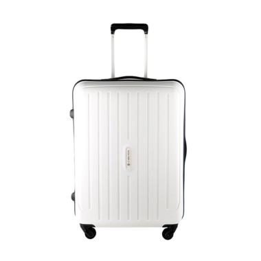 Carlton 239J65 Tas Koper Hardcase - White [25 inch]