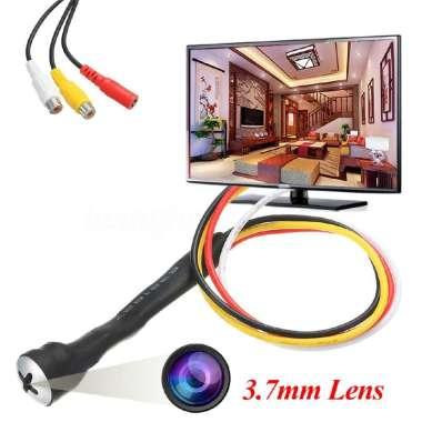 harga Kamera Pengintai HD 800 TVL Mini Bentuk Sekrup Ukuran Lensa 3.7mm untuk Video + Audio Blibli.com