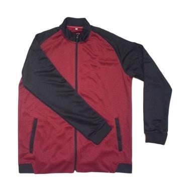 Ping Tai Fu Shi Jaket Olahraga Unisex - Maroon [W02#]