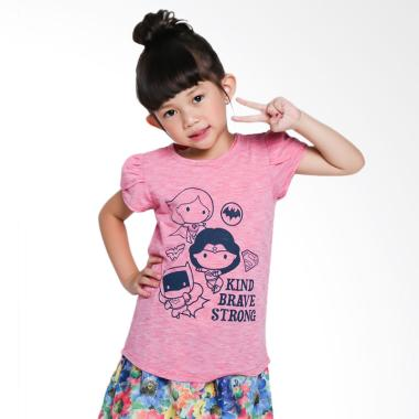 Branded Outlet BO 1036 Tshirt Jumpi ... asan Anak Perempuan - Red