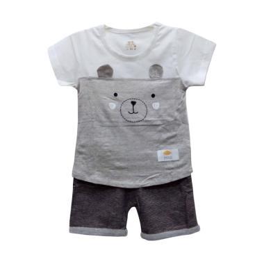 Import Kid A1810 80 Setelan Baju Bayi Laki Laki