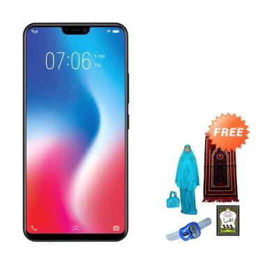 VIVO V9 Smartphone - Gold + Free Paket Sholat Wanita