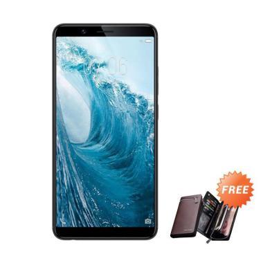 VIVO Y71 Smartphone - Black [32 GB/ 3 GB] + Free Dompet