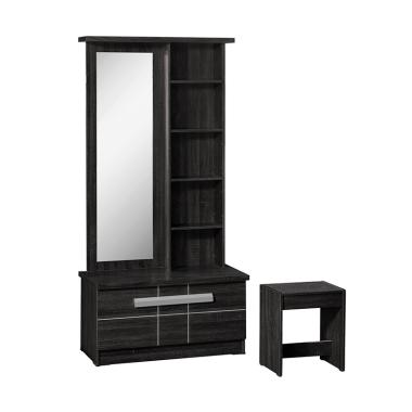 Popular Premiere MR 8726 Dressing Table - Sonoma Black