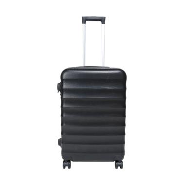 Exsport Macy Plaino Luggage Koper - Black [24 Inch]